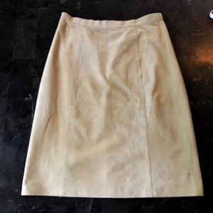 ✨ Rare Tommy Bahama Vintage Suede Leather Skirt